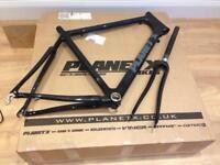 Planet X pro carbon bike frame black XL