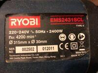 Ryobi EMS2431SCL sliding compound mitre saw
