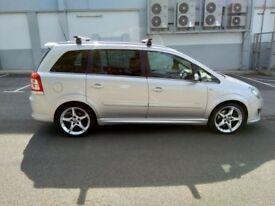 Automatic Vauxhall zafira 2.2 petrol sport 2008 7seater