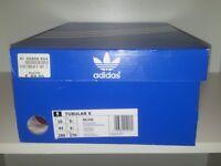 Brand new unused unworn, size 9.5 UK, only one left, 100% original by Adidas