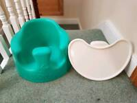 Bumbo Combo Seat and Tray in Aqua