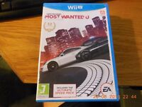 Wii U Games £6 each ( or £15 for all 3 ) New condition /not sealed