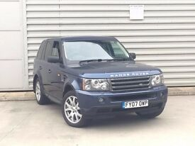 2007 Land Rover Range Rover Sport 2.7 TD V6 HSE 5dr***good spec**hse**p/x to clear no offers