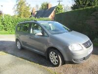 VW Touran 2.0 TDI SE 2005