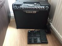 Line6 SpiderJam 75W amp and pedalboard - complete solution for jamming/looping - loads of tones
