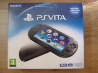 BRAND NEW: Playstation Vita Console (PS Vita model PCH-2016) (1 left!)