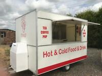 Superb Catering Trailer Burger Van Extremely Clean Excellent Condition Fully Loaded And Ready To Go