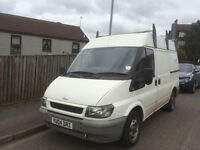 ****2004 FORD TRANSIT VAN WITH NEW £500 ROOF RACK , READY TO WORK ****