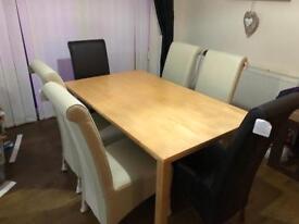 BRAND NEW 6 piece dining set ALL BRAND NEW