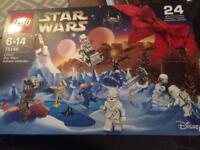 Last years lego Star Wars advent calendar 2016 version new