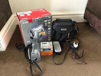Canon digital camcorder - comes with 4 DVC's and a 16gb memory card and carry case