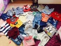 Baby boys clothes bundle age 6/9 months