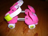 Toddler Minnie Mouse roller skates