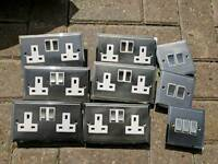 Chrome sockets and switches