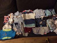 Baby boy clothes bundle - 3-6 months