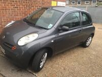 Nissan Micra 1.2, good reliable and economical runner. Electric Windows, MOT until Feb17,.