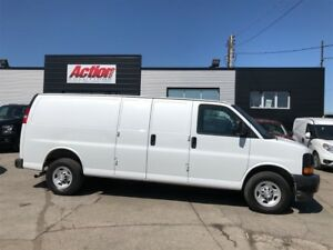 2017 Chevrolet Express 2500 ext . shelving and ladder racks avai