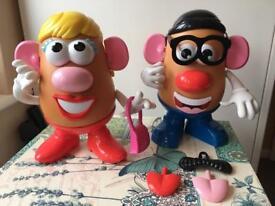Mr & Mrs Potato Head (toy story )