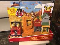 Brand new toy story mini playset