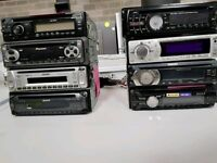 8 CAR CD PLAYERS FOR ALL PRICE £170