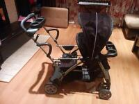 Poussette Graco room for two (sit n stand)