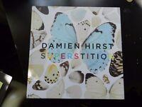 VERY RARE Damien Hirst book Superstition 2007