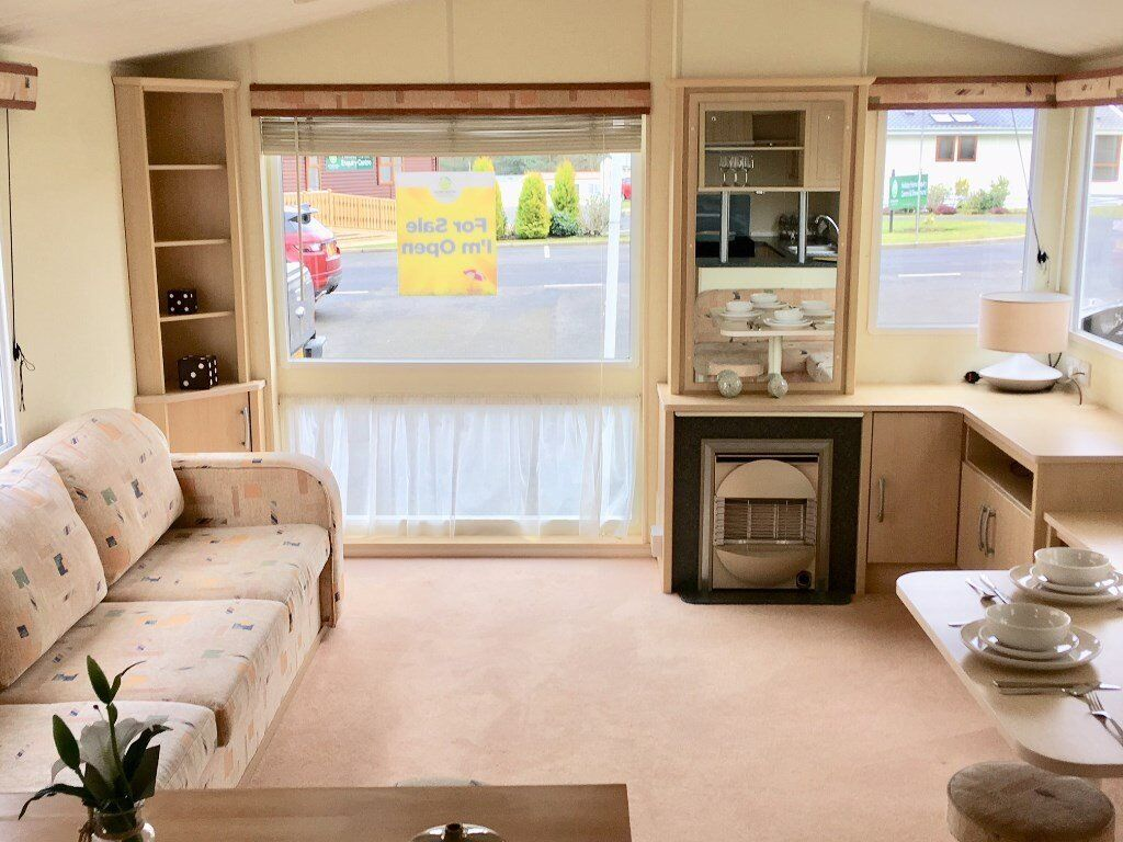 cheap static caravan for sale on 5 star witton castle country park, durham, northumberland, teeside.