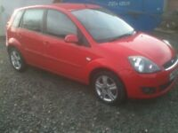 08 PLATE FORD FIESTA 1.4 ZETEC CLIMATE 5DR 67000MILES FSH £2650