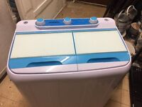 Twin tub washer ideal for caravan etc