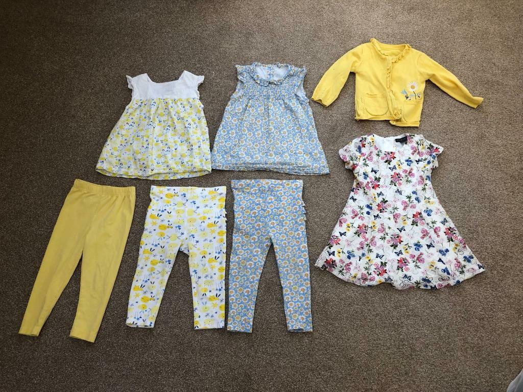 3c02f39b0 Baby girl clothes bundle 12-18 months 1-2 years Boden Kidston TU Primark