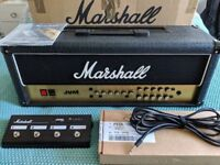 Marshall JVM 205H 50w Guitar Amp Head with Footswitch