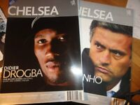 The Chelsea FC Magazine issue 1 to 160 all mint plus cup final progs