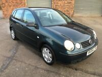 2004 54 Volkswagen polo 1.4 tdi ** 1 years mot** FSH**