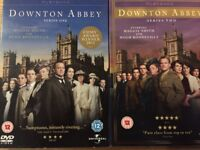 Downtown Abbey series 1 and 2 DVD's (unopened)