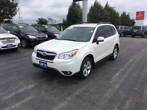 2015 Subaru Forester 2.5i Low Kilometres, Accident Free!