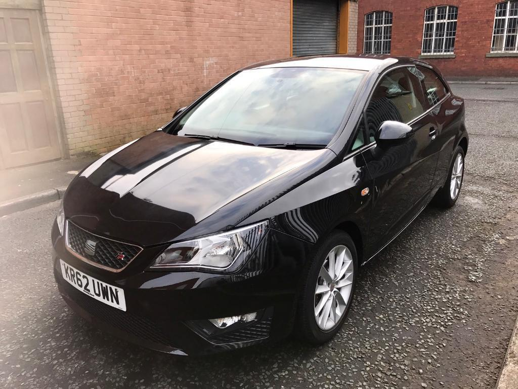 62 2013 seat ibiza fr 1 2 tsi 3 door mint condition low. Black Bedroom Furniture Sets. Home Design Ideas