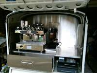 Mobile or static coffee van