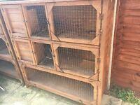 3 storey rabbit/guinea pig/ferret hutch