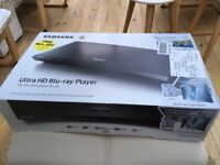 Brand new Samsung Ultra HD Blu-ray Player - still in sealed box - never opened.