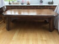 Thick Oak Table