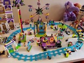 LEGO FRIENDS FUNFAIR/AMUSEMENT PARK BUNDLE... BRAND NEW