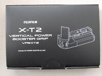 Fujifilm Vertical Power Booster Grip for Fujifilm X-T2