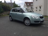 SKODA FABIA 1.2 PETROL 5 DOORS-- ONLY DONE 59K // FULL SERVICE HISTORY-/ LONG. MOT --