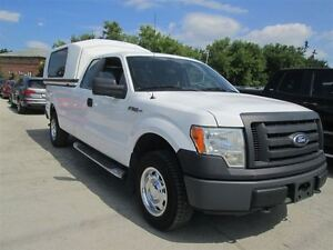 2010 Ford F-150 4X4**SUPER CAB** 8FT LONG BOX** CERT & 3 YEARS W
