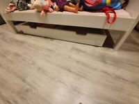 Under bed pull out storage trundle