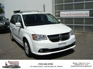 2016 Dodge Grand Caravan Crew|NAV|DVD|Heated Leather