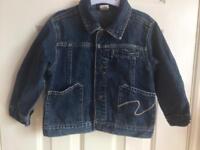 Denim jacket 2 years