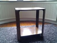 Small double level coffee table