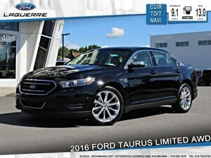 2016 Ford Taurus LIMITED**AWD*CUIR*TOIT*NAVI*CAMERA