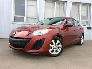 2011 Mazda MAZDA3 GX, LOW KM, SATELLITE RADIO.